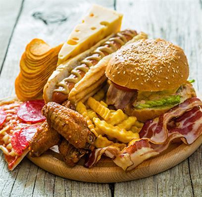 Fast Food als Cholesterin Risiko