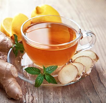 Tee zur Linderung von Halsschmerzen