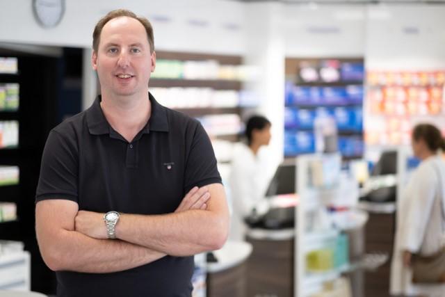 Karl-Alfred Scholz, Apotheker für Geriatrische Pharmazie