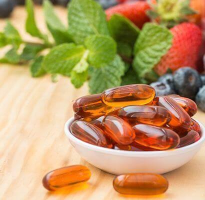 Vitamin Kapseln, Nahrungsergänzungsmittel